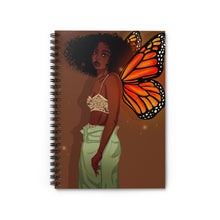 Load image into Gallery viewer, CoaCoa Flutter Kisses Spiral Notebook (Ruled Line)