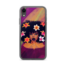 Load image into Gallery viewer, Lily Flower Lady iPhone Case