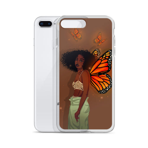 CoaCoa Flutter Kisses iPhone Case