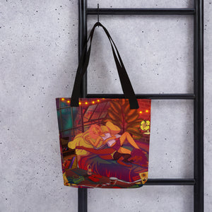 Hot Summer Nights Tote bag