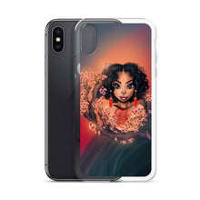 Load image into Gallery viewer, Cherry Blossom Lady iPhone Case