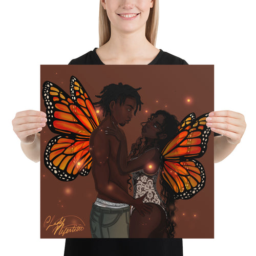 (Insert Butterfly Pun Here) Poster