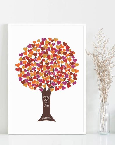 Autumn Wedding Colors - ColorBee Creative