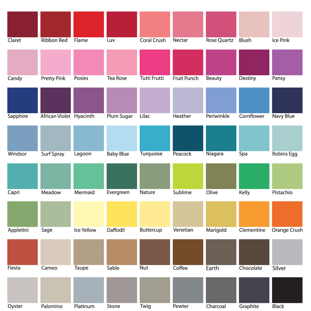 Custom Color Guide for ColorBee ColorAndFlair