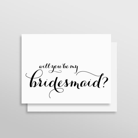 Will You Be My Bridesmaid Card - Signature Style by Printfully