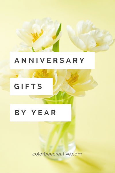 Traditional Anniversary Gifts by Year List