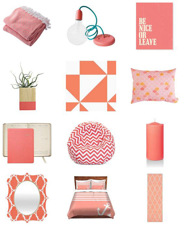 Decorating Your Home With Coral – Color And Flair