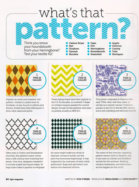 ColorBee | What's That Pattern?