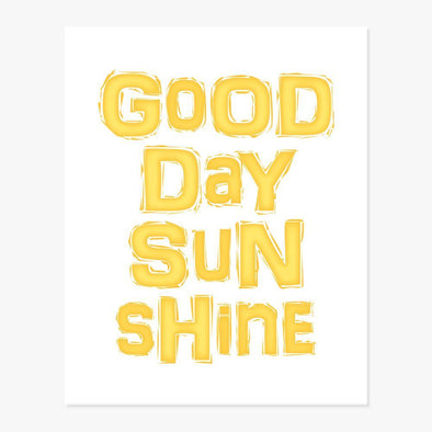 Good Day Sunshine Art Print Art Print by ColorBee Creative