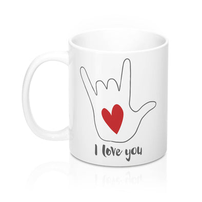 I Love You Sign Language Mug