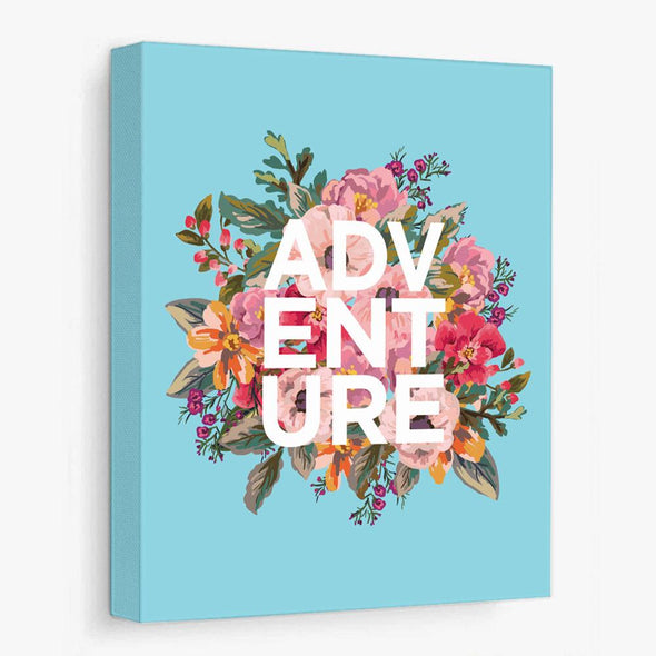 Adventure Floral (Print or Canvas) Wall Art by ColorBee Creative