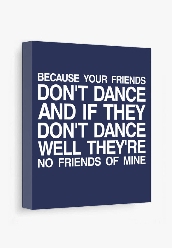 Safety Dance Canvas Print Gallery Wrapped Canvas by ColorBee Creative