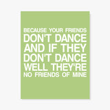 Safety Dance Art Print Art Print by Color And Flair Color And Flair