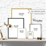 ColorBee | Art Print Size Reference Guide