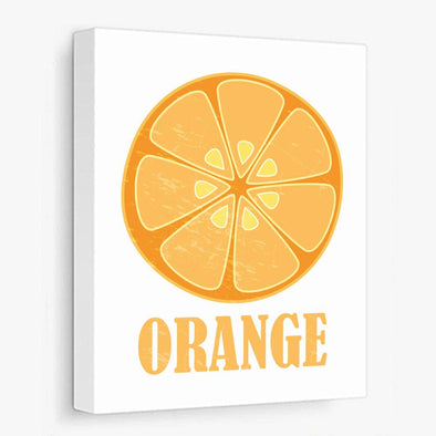 Orange, Lemon or Lime Canvas Print Gallery Wrapped Canvas by ColorBee Creative
