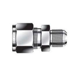 AN Union - 1 - 1 - Stainless Steel, Part #: SUAO-16-16-S6-SN