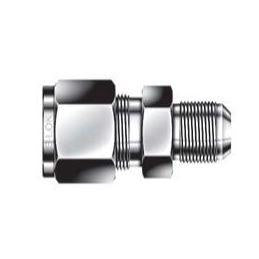 AN Union - 1/4 - 1/4 - Stainless Steel, Part #: SUA-4-4-S6