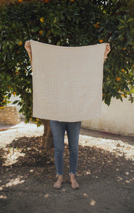 Rust Layered Gauze Blanket