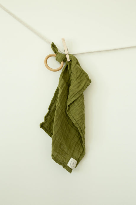 Olive Gauze Teether