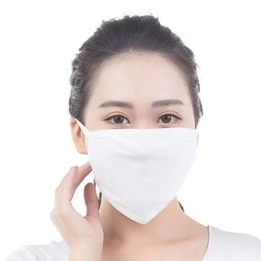 Cloth Masks with PM2.5 Carbon Filter - Reusable/Washable - Free Shipping
