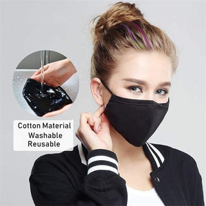 Open image in slideshow, Cloth Masks with PM2.5 Carbon Filter - Reusable/Washable - Free Shipping