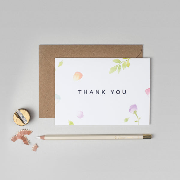 Amelia thank you card