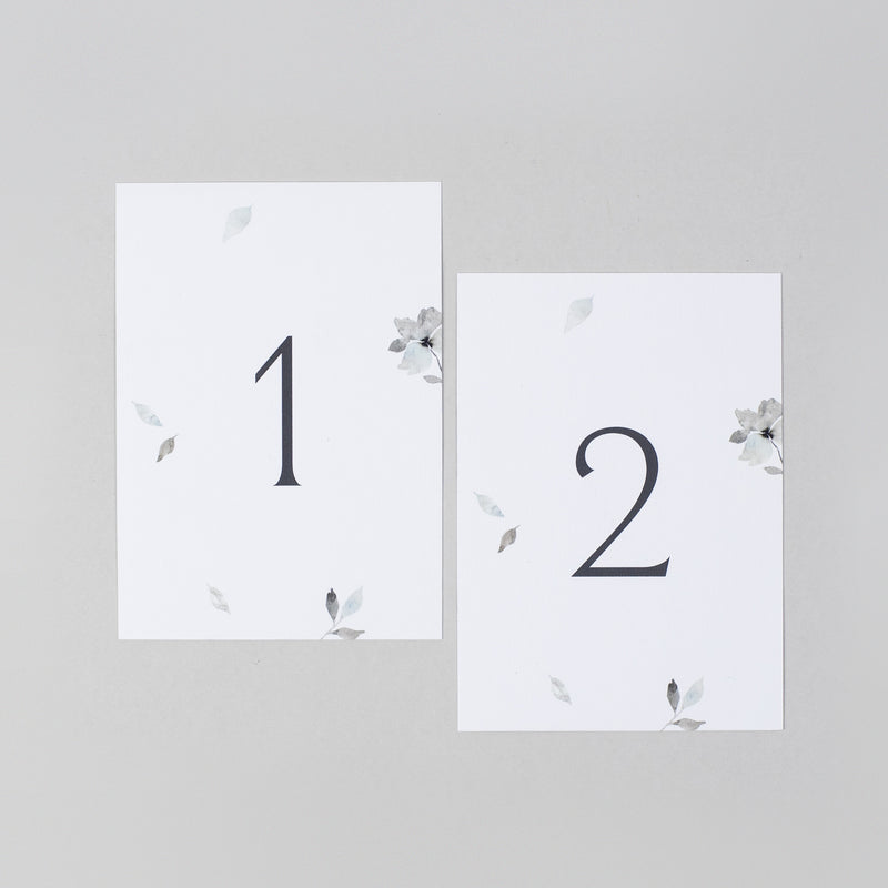 Eloise table numbers