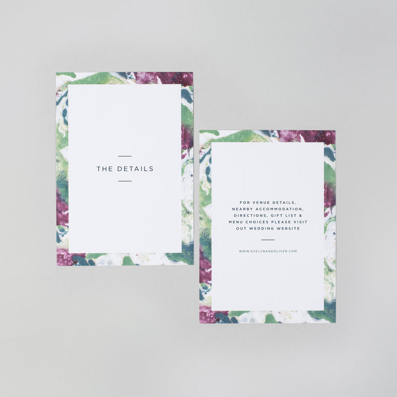 Evelyn Invitation