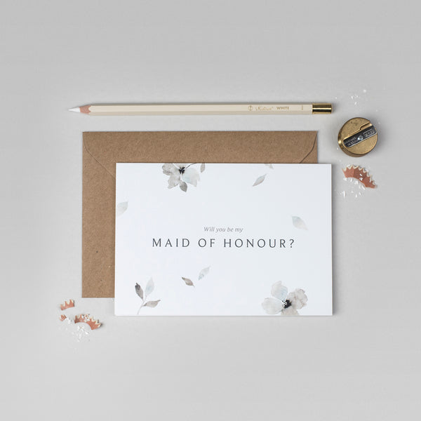 Will you be my Maid of Honour Eloise collection card