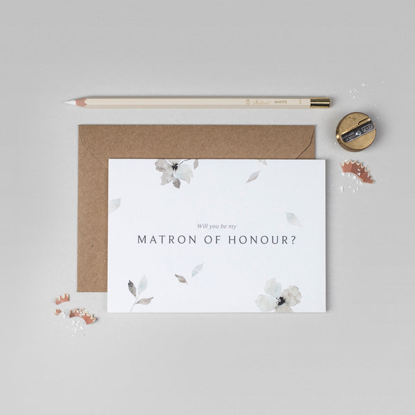 Will you be my Matron of Honour Eloise collection card