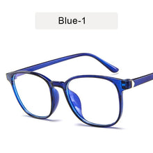 Load image into Gallery viewer, KOTTDO Retro Mens Glasses Frame Fashion Computer Eyeglasses Frame Women Anti-blue Light Transparent Clear Pink Plastic Frame