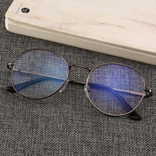 Load image into Gallery viewer, Black Glasses Mobile Phone Glasses Radiation Blue Light Men's Flat Mirror Computer Glasses Anti Blue Ray Glasses Clear Large