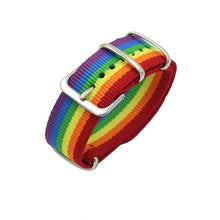 Load image into Gallery viewer, Nepal Rainbow Lesbians Gays Bisexuals Transgender Bracelets for Women Girls Pride Woven Braided Men Couple Friendship Jewelry