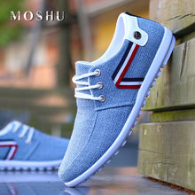 Load image into Gallery viewer, Men Casual Shoes Slip On Loafers Italian Breathable Canvas Shoes Male Driving Shoes 2020 New Fashion Flats Zapatos De Hombre