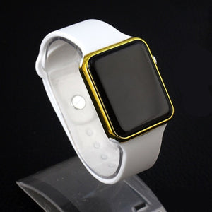 LED Electronic Sport Silicone Kids Watch Fashion Casual Outdoor Digital Display Watches Simple Kids Girls Boys Gift Clock Reloj