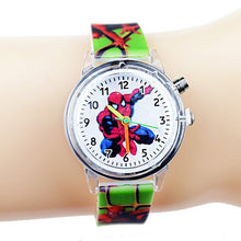 Load image into Gallery viewer, Princess Elsa Children Watches Kids Spiderman Colorful Light Source Boys Watch Girls Party Gift Clock Wrist Relogio Feminino