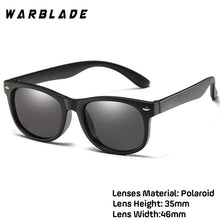 Load image into Gallery viewer, WarBlade New Kids Polarized Sunglasses TR90 Boys Girls Sun Glasses Silicone Safety  Glasses Gift For Children Baby UV400 Eyewear