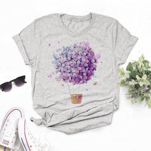 Load image into Gallery viewer, Maycaur Vogue T Shirt Women Summer Casual Tshirts Tees Harajuku Korean Style Graphic Tops 2020 Kawaii Female T-shirt,Drop Ship