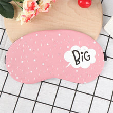 Load image into Gallery viewer, Travel Eye Band Sleeping Aid Kids Blindfold Sleeping Mask Creative Funny Eyepatch Sleep Mask Cute Cotton Cartoon Eye Cover