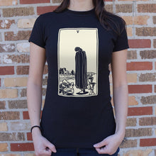 Load image into Gallery viewer, Tarot Five Of Cups T-Shirt (Ladies)