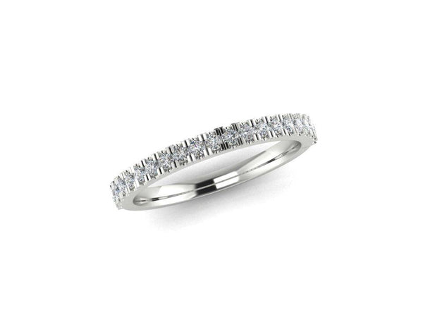 18ct White Gold 0.30ct Diamond Wedding Ring