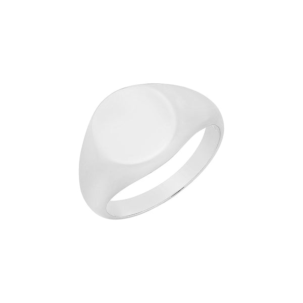 Sterling Silver Mens Signet Ring