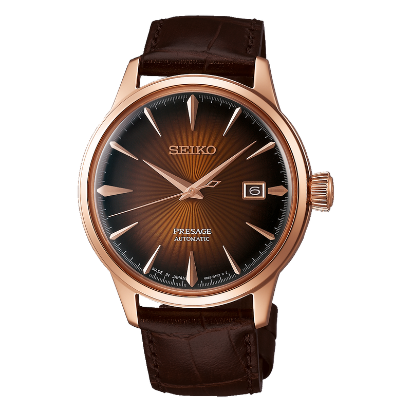 SEIKO - Mens Presage Leather Watch