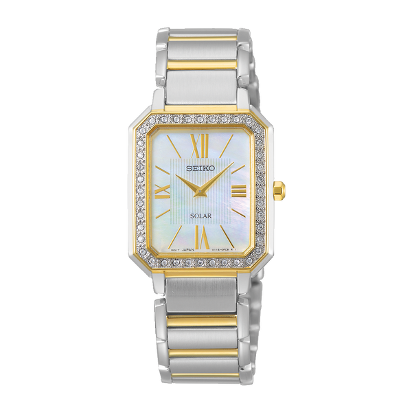 SEIKO - Ladies Mother of Pearl Stone Set Watch