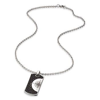 Save Brave Havanna Tag Necklace 50+10cm