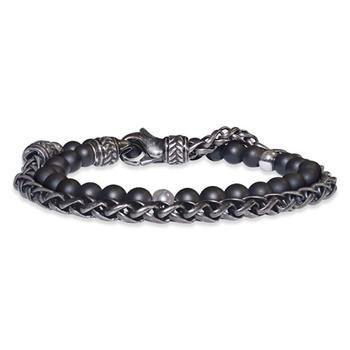 Save Brave Nico Black Wrap Bracelet 42cm