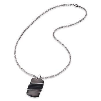 Save Brave Uncle Tag Necklace 50+10cm