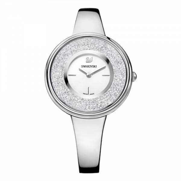 Swarovski Rhodium Crystalline Pure Watch