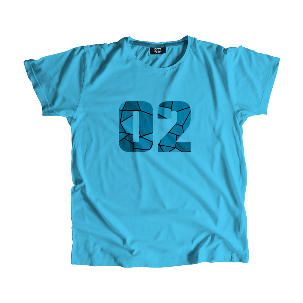 02 Number Men Women Unisex T-Shirt