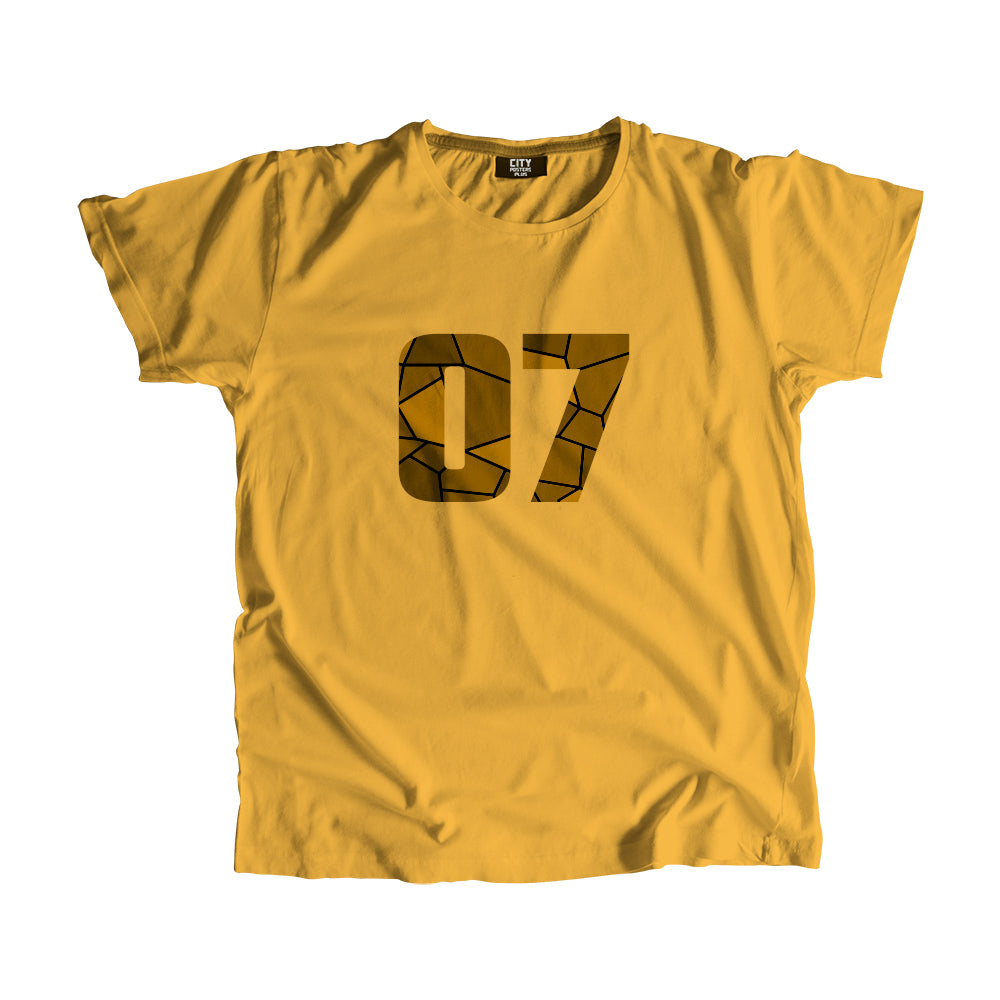 07 Number T-Shirt